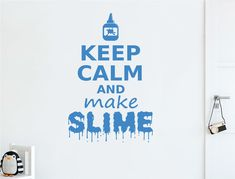 Slime making is such a big craze across the world and any child into this hobby would absolutely love our slime wall decal. Numerous colour options available Wall Stickers Quotes, Wall Decals, Keep Calm And Drink, Wine Wall, Childrens Wall Stickers, Weird And Wonderful, Wine Drinks, Slime, Cami