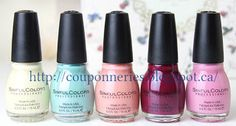 Coupons et Circulaires: .99¢ Vernis à ongle SinFull