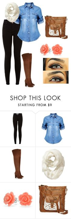 """Outfit #13"" by blueeyedbaby7 on Polyvore featuring Giuseppe Zanotti, Old Navy, Bling Jewelry and T-shirt & Jeans"