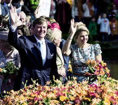 Koningsdag 2014, April 26, 2014-King Willem-Alexander and Queen Maxima