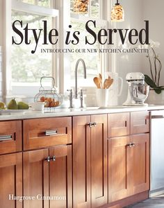 From Ferrarini Kitchens · HomeDecorators.com: Love These Cabinets