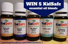 GIVEAWAY: 5 KidSafe essential oil blends (OCT) | Learning About EOs - Using Essential Oils Safely