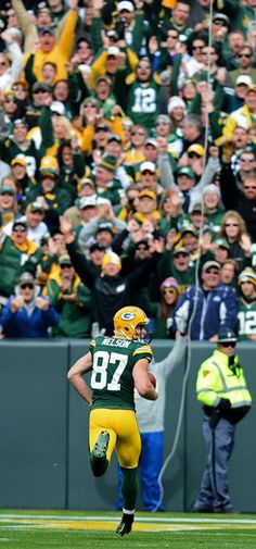 Jordy Nelson scores against the Panthers