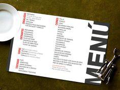 Cartas de Menú para Restaurantes. 50 Unidades x 55€+iva. Impresión y Envío Incluido. Servicio de Diseño Gráfico. Precios en www.jmwebs.net o Teléfono 935160047