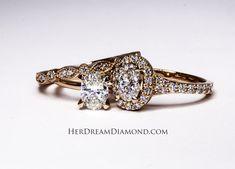 Solitaire Diamond, Diamond Engagement Rings, Heart Ring, White Gold, Jewelry, Jewlery, Bijoux, Jewerly, Heart Rings