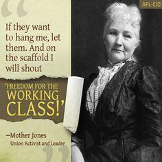 #WorkingClassHeroes An #AmericanDemocraticSocialist, Mary Harris Jones