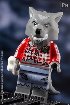 """Series 14 - Wolf Guy"" Minifigures Series 14 My LEGO. Pedro Nogueira Photography."