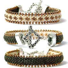 Koraliki tudzież: Wzory sznurów szydełkowo-koralikowych  has pattern