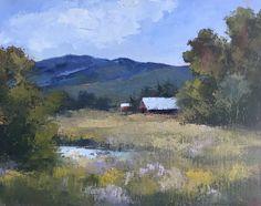 Pasturelands 11x14 oil Bonnie Griffith artist
