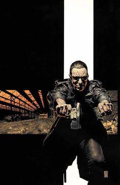 Punisher #5 by Tim Bradstreet *