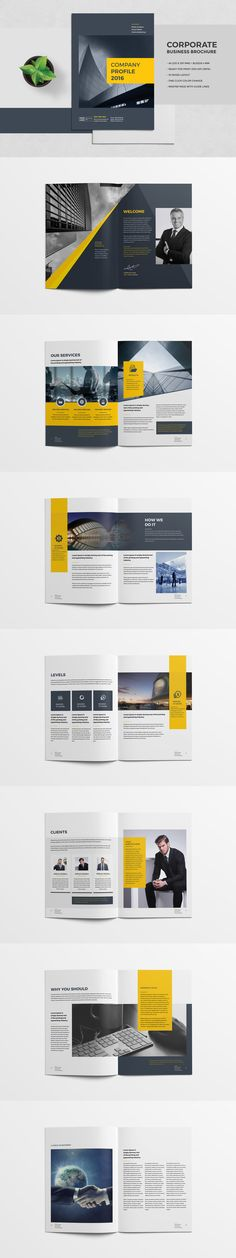 Pages Clean Brand Manual Template Indesign Indd Download Here