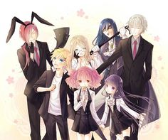 Inu X Boku SS lol iTs the best when they play house in the last episode!