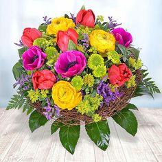 Schwelge in bunten Blüten! #Valentins #Blumen #Geschenke #Deko