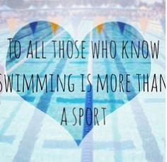 to all those who know swimming is more than a sport Swimming Memes, Competitive Swimming, Swimming Diving, Keep Swimming, Swimming Benefits, Swimming Motivation, Swim Quotes, Swimmer Problems, Swim Mom