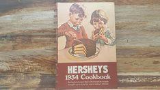 Hersheys 1934 cookbook  1971vintage cookbook