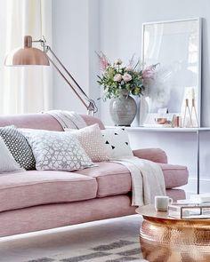 Rosa  cobre  branco   #decorismo #homedecor #livingroom