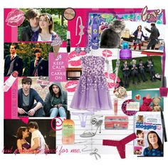 Angus, Thongs, and Perfect Snogging, created by mccxoxo on Polyvore