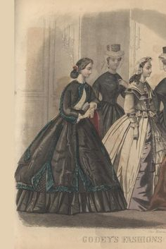 ENTIRE MAGAZINE. Godey's Lady's Book October 1864