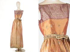 Givenchy Sari Silk Evening Dress