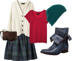 """""""Christmas outfit"""" by ana-felmini on Polyvore"""