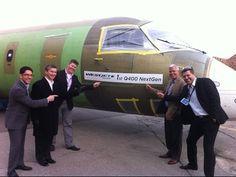 Final assembly of a Bombardier Q400 NextGen aircraft | WestJet Encore - YouTube