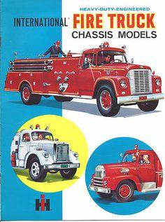 Auto-Matic: Old IH fire trucks