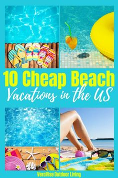 If you are looking for a places to travel for a cheap beach vacation in the USA this year, you will love these beautiful USA beaches for an affordable family beach trip. Cheap Beach Vacations Usa, Cheap Family Vacations, Vacations In The Us, Spring Break Vacations, Family Trips, Family Travel, Best Beaches To Visit, Best Places To Vacation, Vacation Deals
