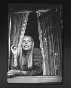 """Joni Mitchell's cottage in Laurel Canyon was """"Our House"""" in the Crosby, Stills & Nash song. Photo by Henry Diltz"""