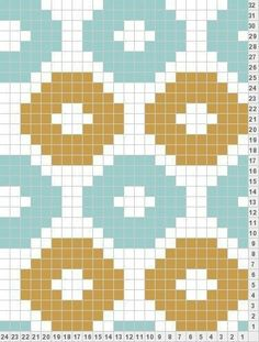 New Ideas Crochet Bag Pattern Chart Fair Isles C2c Crochet, Crochet Motifs, Crochet Chart, Filet Crochet, Knitting Charts, Knitting Stitches, Knitting Patterns, Tapestry Crochet Patterns, Weaving Patterns