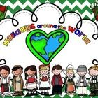 Holidays around the World and Christmas around the World  •HUGE HOLIDAYS AROUND THE WORLD UNIT – ELEVEN          COUNTRIES - USA, Mexico, France, Italy, Greenland, The          Netherlands, Sweden,          Australia, Germany, England, Israel •Interactive journal pages about Christmas/Winter Holidays for          each country - holidays around the world mini - reader •Writing Pages K – 3 with International Children and Flags •PowerPoint that coordinates with journal •Fun activity fo...