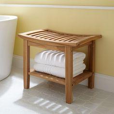 Bathroom Bench Storage Seat