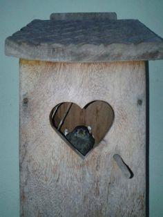 BIRDHOUSE Peça em madeira de demolição, driftwood, peça exclusiva, madeira de barco antiga,https://www.facebook.com/sacroofficiumsc
