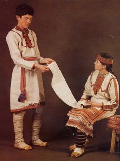 FolkCostume&Embroidery: Overview of the Folk Costumes of Europe, Mari=El
