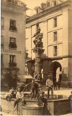 Suisse, Berne, Bern, Fontaine de l'ogre (Kindlifresser)    #Europe #Suisse_Nouveautés #Berne_Bern