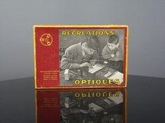 Jeu scientifique Récréations optiques expériences 1955