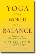 Every aspect of our life has a part to play in the greater ecological system, Michael Stone explains in this book. How do we bring this large view to our yoga practice?Using the five principles (yama) described in the Yoga-Sutra attributed to Patanjali, Michael Stone offers a basis for rethinking ethical action and the spiritual path.