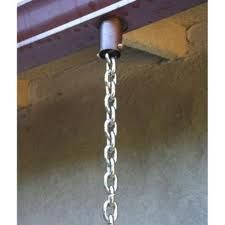 Rain Chain Drain Electro Galvanised Chain - per metre