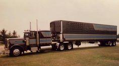 Show Trucks, Big Rig Trucks, Old Trucks, Peterbilt 359, Peterbilt Trucks, Truck Quotes, Good Ole, Vintage Trucks, Diesel Trucks