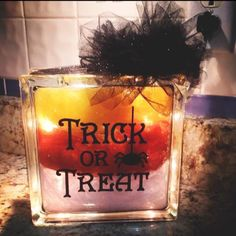 """""""Trick or Treat!"""" Perfect for the upcoming holiday. Selling for $30!"""