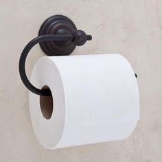 Lotus Flower Collection Euro Toilet Paper Holder - Oil Rubbed Bronze