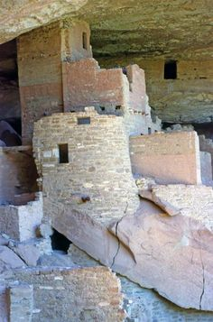 The Cliff Palace indian ruin and cliff dwelling located in Mesa Verde National Park in southwestern Colorado in the USA. It's amazing to see how some native Americans lived hundreds, even thousands of years ago. Talk about a history lesson. If you love history and learning, visit the american southwest.