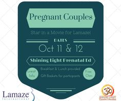 Pregnant Couples needed to Star in a Movie for Lamaze in January Lamaze Classes, Pregnant Couple, Educational Videos, Stars, Couples, January, Movies, Posts, Blog