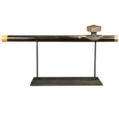 19th Century Chinese Opium Pipe on Stand