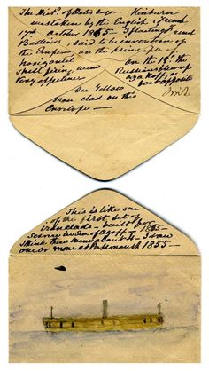 This letter represents the letter that was being sent to England from King Claudius. Enclosed in the letter was Hamlet's order of execution. Obviously the letter did not make it to England with that writing, because Hamlet saved himself, but in doing so sacrificed his two friends lives. Hamlet finding letter was a turing point, because it saved his life.