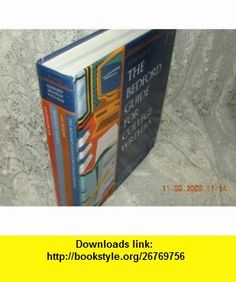 Bedford Guide (9780312196080) X. J. Kennedy, Dorothy M. Kennedy, Sylvia A. Holladay , ISBN-10: 0312196083  , ISBN-13: 978-0312196080 ,  , tutorials , pdf , ebook , torrent , downloads , rapidshare , filesonic , hotfile , megaupload , fileserve