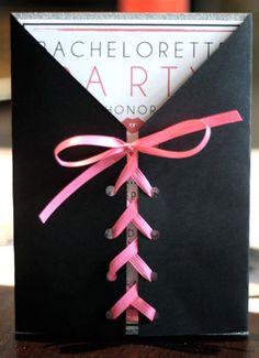cute bachelorette invitation. @Marcie Lindblom