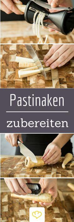 Viel zu lange unterschätzt: Pastinaken! Wie du das Wurzelgemüse richtig lecker zubereitest, liest du hier: