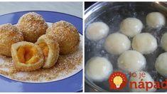 Lenivé tvarohové knedličky – cesto len z 3 prísad: Sú jemné, lahodné a hotové hneď – skúste ich s domácimi marhuľami!