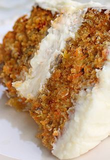 Best Healthy Carrot Cake with Applesauce and Flax Seed. Delicious.