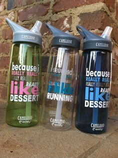 I Like Running Camelbak by MSPersonalization on Etsy, $27.00